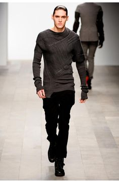 TODD LYNN, AW11: better picture for the texture. #todd_lynn #knitwear