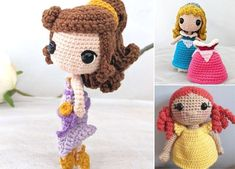 Such beautiful crochet doll will be an amazing gift for little girls, because it's even more stunning than Barbie! One of the coolest things is also the fact, that you can custom-make entire wardrobe for her.  #freecrochetpattern #amigurumi #doll