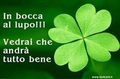 In bocca al lupo Italian Quotes, Good Luck, New Years Eve Party, Improve Yourself, Plant Leaves, Thoughts, Words, University, Snoopy