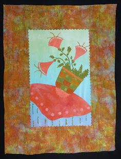 How to Make an Improvised Fused Art Quilt by Laura Wasilowski