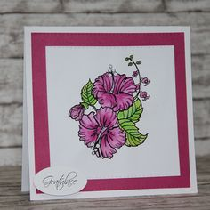 February 2016 digi release by Little Blue Button Stamps | Kate Crafts