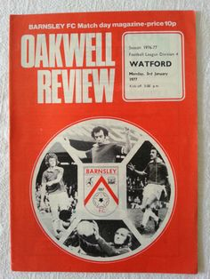 Barnsley v Watford Football Programme 03/01/1977 Listing in the Fourth Division Fixtures,1970-1979,League Fixtures,English Leagues,Football (Soccer),Sports Programmes,Sport Memorabilia & Cards Category on eBid United Kingdom