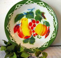 Beautiful Vintage Rossini Enamelware large by ShellsBeachTreasures, $28.00
