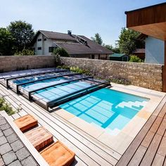 pool ideas indoor outdoor retractable pool enclosure sun room outdoors pinterest pool. Black Bedroom Furniture Sets. Home Design Ideas