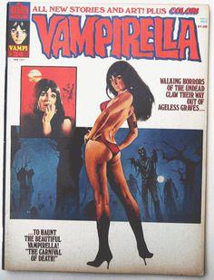 Vampirella #34 June 1974 Magazine Fine 6.0 F Warren Horror Original First