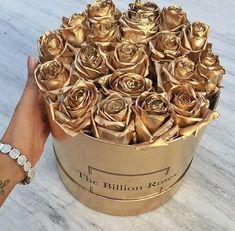 rosas de oro
