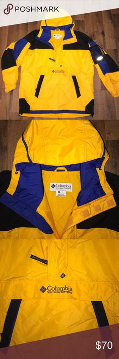 XL Vintage Columbia Sport Pullover Puffer Jacket Excellent condition Columbia Jackets & Coats Puffers