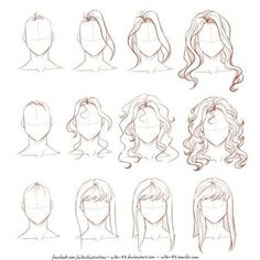 Ideas Fashion Drawing Tutorial Sketches Hair Reference For 2019 Drawing Techniques, Drawing Tips, Drawing Sketches, Painting & Drawing, Drawing Ideas, How To Draw Sketches, Sketch Ideas, How To Sketch People, How To Draw People