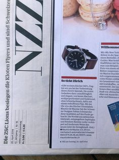 Review of the new watch from Maurice de Mauriac. Design by Fabian Schwaerzler. Swiss luxury watches for men.