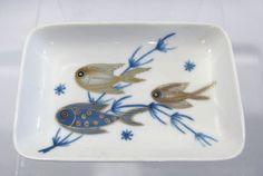 Porsgrund dish 3 Fish, Cool Fish, Fish Dishes, Norway, Dinnerware, Scandinavian, Porcelain, Pottery, China
