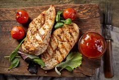 Pic: grilled chicken fillets