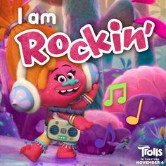I rock!! #djsuki #trolls #dreamworks www.charmingsusie.origamiowl.com