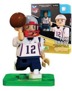 Tom Brady New England Patriots Super Bowl XLIX mini figure Oyo Sports NIB NFL