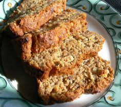 Banana Orange Bread Recipe...made with leftover orange pulp from the juicer