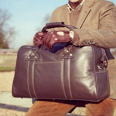Searching through our old brochure images from 2008, when we used to sell men's leather bags. #flashbackfriday