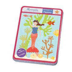TOPSELLER! Mudpuppy Mermaids Magnetic Figures $10.00