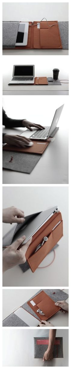 Felt Case designed by Cloud&Co for 11+