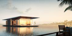 La maison flottante 2 chambres de luxe