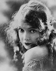 """Lillian Diana Gish. The """"First Lady of American Cinema"""" starred in D. W. Griffiths revolutionary 1915 white supremacist filmBirth of a Nation."""