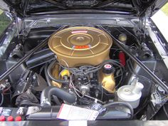 ford 289 v8 engines correct mustang engine paint color v8 289 1966 rh pinterest com Layout 1965 Mustang 289 Engine 1965 Mustang Show Car Engine