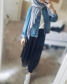 ZAFUL offers a wide selection of trendy fashion style women's clothing. Modern Hijab Fashion, Muslim Fashion, Modest Fashion, Fashion Outfits, Modest Dresses, Modest Outfits, Skirt Outfits, Casual Outfits, Hijab Casual