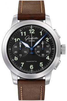 39-34-17-17-04 Glashutte Original Senator Navigator Chronograph Mens Watch