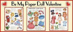 vintage royalty free paper doll images all scanned from a personal collection;ever so adorable