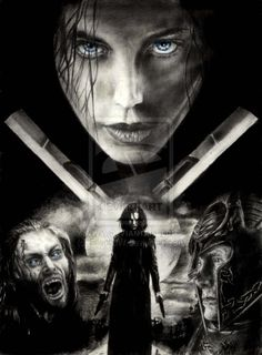 Underworld: Evolution (2006) | Action ~ Fantasy ~ Sci-Fi | Brother, what have you done? | Artwork by Kristin [©2009]