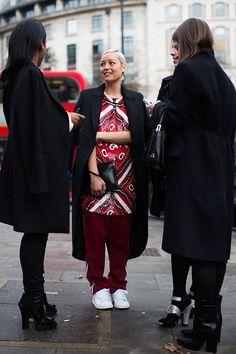 On The Street….. London FW Day Three, London
