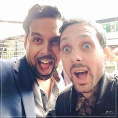 This man appeared from no where! [always good catching up with Dynamo]