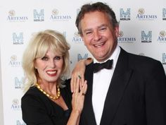 LONDON, ENGLAND - JULY 14: Joanna Lumley and Hugh Bonneville attend an Evening With Downton Abbey - Raising Money For Merlin - The Medical Relief Charity at The Savoy Hotel on July 14, 2011 in London, United Kingdom. (Photo by Dave J Hogan/Getty Images)