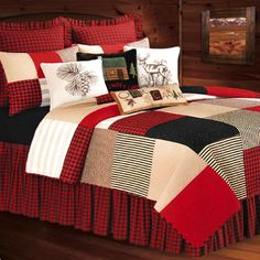 Boulder Ridge Patchwork Quilt Bedding