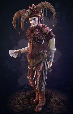 Jester by Raphael Boyon