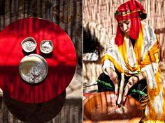 Morocco Fabrics and Food
