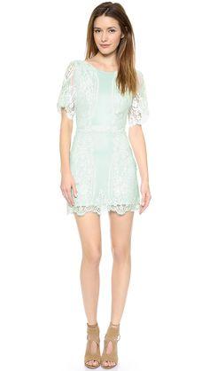 Shopbop: For Love  Lemons Dress