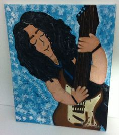 """Acrylic Painting entitled """"James"""" after a good friend passed away suddenly..."""