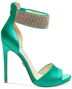 Blue by Betsey Johnson Unite Ankle Strap Evening Sandals - Evening & Bridal - Shoes - Macy's