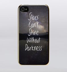 Star Cant Shine Without Darkness Night Sky IPhone Case
