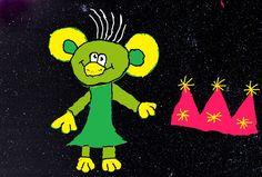 RÁKOSNÍČEK A HVĚZDY - shlédnout epizody z cyklu Rákosníček a hvězdy a na fotografii noční oblohy nakreslit v programu Malování Rákosníčka s vybraným souhvězdím (počítačová grafika)