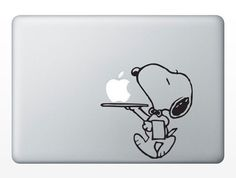 Snoopy  Mac Decal Mac Sticker Macbook Decals Macbook by GoodDecals, $7.99