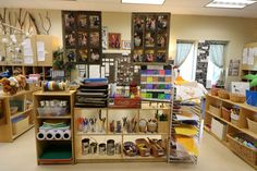Setting up the Teacher: A Peek into Nammi's Classroom Reggio inspired classroom – art center ~ Fairy Dust Teaching Classroom Decor Themes, Classroom Setup, Classroom Design, Preschool Classroom, Teaching Kindergarten, Preschool Ideas, Art Classroom Layout, Classroom Displays, Future Classroom