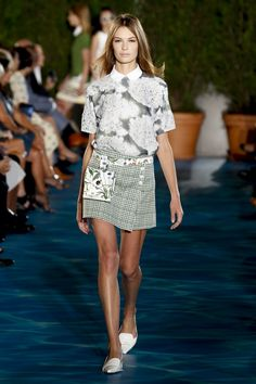 Tory Burch Spring 2014 Collection #NYFW