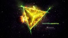 General 3000x1688 speedforce  trending Photoshop digital lighting planet digital art abstract universe lights