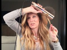 Learning The TYME Iron - YouTube Hair spray - Big Sexy Hair more stiff.  Kevin Murphy because it has memory and is brushable not flaky.