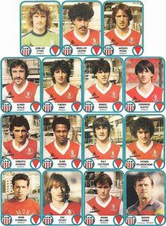 AS Monaco stickers in Retro Football, Football Jerseys, As Monaco, Football Stickers, France, Vignettes, Album, Baseball Cards, Bordeaux