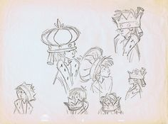 The Art of Milt Kahl* ★    Art of Walt Disney Animation Studios © - Website   (www.disneyanimation.com) • Please support the artists and studios featured here by buying their works from their official online store (www.disneystore.com) • Find more artists at www.facebook.com/CharacterDesignReferences and www.pinterest.com/characterdesigh    ★