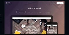 Qards - Site of the Day December 28 2014