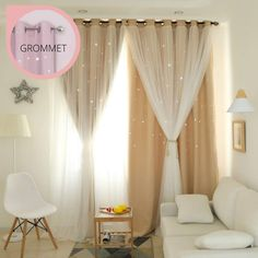 (1) Oslo Star Curtain – PINK GOLD DESIGN How To Sleep Faster, How To Get Sleep, Sleep Better, Night Scenery, Layered Curtains, Gold Bedroom, Curtains Living, Changing Room, Bedding