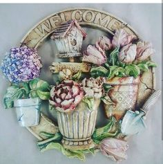 Biscuits, Floral Wreath, Wreaths, Home Decor, Boxes, Craft, Crack Crackers, Cookies, Floral Crown