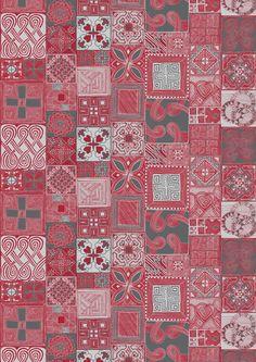 Sydäntalvi (red / grey) - By Lauri Tähkä Heartdesign